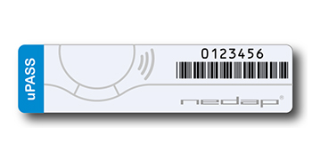 Anti-tamper RFID windshield labels