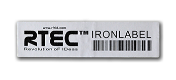 Customized RFID labels for metal