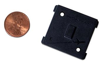 Flame resistant, large memory UHF RFID tag