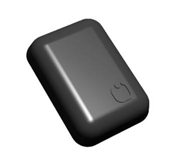 Small ceramic UHF RFID tag global ETSI FCC