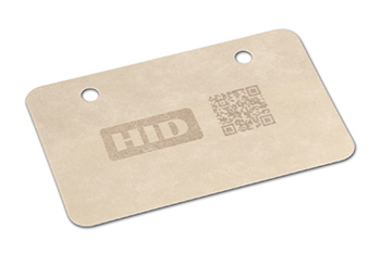 High temperature UHF RFID labels