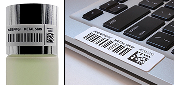 Metal UHF RFID label printable