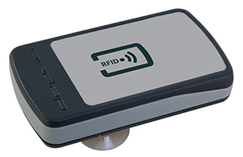 Driver-activated high-security RFID tag for vehicle identification
